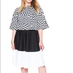 Eloquii Color Block Modi Skirt 14